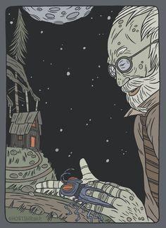 Иллюстратор: Ghostshrimp