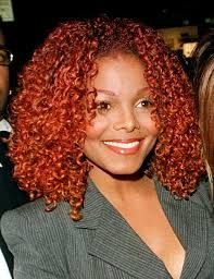Image Result For Janet Jackson Red Hair With Images Red Hair Curly Hair Styles Hair