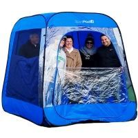 TeamPod???UnderCover???All Weather SportPod???Pop Up Chair Tent