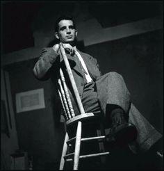 Jack Kerouac------Credits: Elliot Erwitt /Magnum Photos /Contrasto