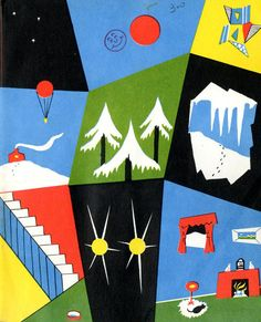 Winter Noisy Book by Margaret Wise Brown, 1947. Illustrations by Charles G. Shaw.