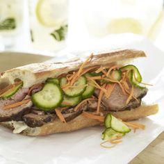 Lemongrass Pork sandwich