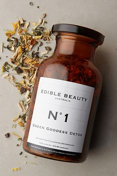 Edible Beauty Green Goddess Detox Tea - anthropologie.com