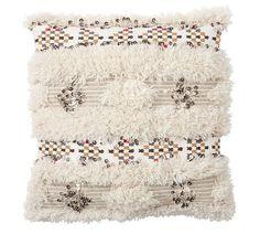Aya Moroccan Wedding Blanket Pillow Cover, 24