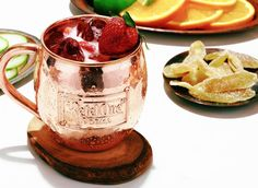 Try a Oranje Strawberry Mule, a drink recipe that uses Ketel One Oranje® Flavored Vodka, lime juice, simple syrup, strawberries, and ginger beer.