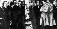 Hace 110 años #Einstein publicaba la Tª Especial de la Relatividad. Foto Residencia de Estudiantes Madrid 1923  Vía Twitter @CSIC