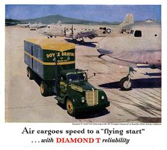 Doyle Draying & the Diamond T    November 1945.