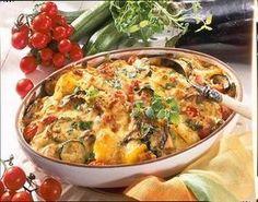 Unser beliebtes Rezept für Sommerlicher Kartoffel-Gemüse-Auflauf und mehr als 55.000 weitere kostenlose Rezepte auf LECKER.de.