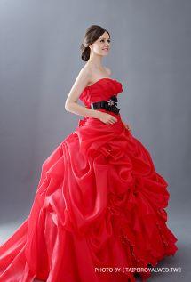 戀愛進化論 惹人紅 - RED DRESSES / FORMAL WEDDING - TaipeiRoyalWed.tw 台北蘿亞結婚精品 大紅晚禮服