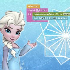 How Disney's Frozen Is Getting More Girls to Code: If that awful Barbie programming book got your spirits down, Disney is here to make things better.
