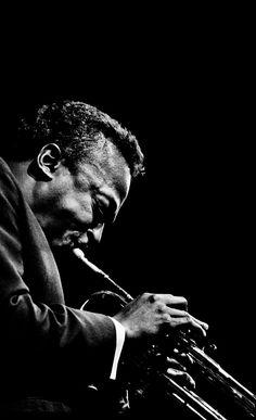 Miles Davis at The Monterey Jazz Festival, September 1964 by Jim Marshall