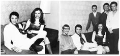 Elvis took a break from recording at the American Sound studio with Jeannie C. Riley and her band in Vegas in February '69