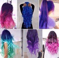 Easy DIY kool laid hair dye