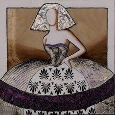 Cuadro menina (bacb006) Infanta Margarita, Abstract Faces, Illustrations, Drawing People, Figurative Art, Pattern Art, Timeless Fashion, Canvas Art, Aurora Sleeping Beauty