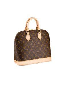 Alma de Louis Vuitton Ainsi baptisé en hommage à la place parisienne de l'Alma, ce sac est l'un de plus revus de la maison. En version cuir épi (depuis 1996), damier ébène (dès 1997) ou vernis (arrivé en 2008), il s'adapte à toutes les situations