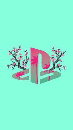 vaporwave fondos PlayStation x Arizona Game Wallpaper Iphone, Pop Art Wallpaper, Cellphone Wallpaper, Aesthetic Iphone Wallpaper, Wallpaper Backgrounds, Aesthetic Wallpapers, Best Gaming Wallpapers, Dope Wallpapers, Animes Wallpapers