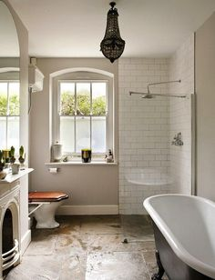 I'm dying over this bathroom! | Desire to Inspire
