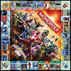 Power Rangers 20th Anniversary Edition - Monopoly Wiki More