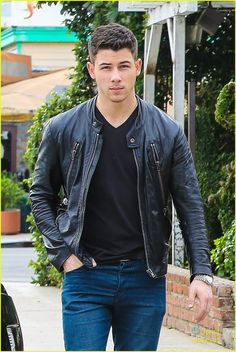 Nick Jonas spotted out in Los Angeles.