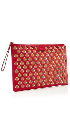 Perforated Leather and Suede Laptop Case by Marc Jacobs - Moda Operandi