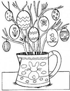 48 Beste Afbeeldingen Van Paas Kleurplaten Easter Bunny Easter