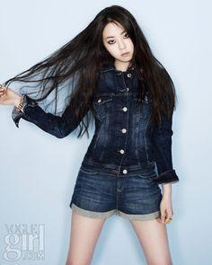 Wonder Girls So-hee for Vogue Girl Korea