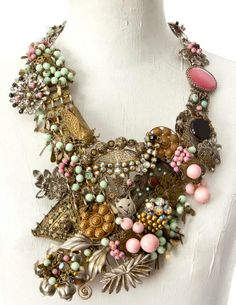 recycled jewelry parts