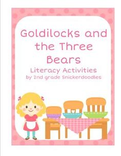 """Literacy Activities for """"Goldilocks and the Three Bears"""" with a Reader's Theater $"""