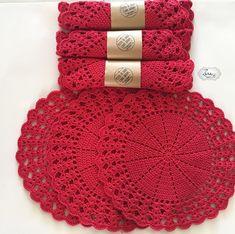 Natural Jute Twine Rope Cord, Non-Polished Gift Wrap, Packaging, eco-friendly hemp yarn 100 g 55 Crochet Circles, Crochet Mandala, Crochet Motif, Crochet Designs, Crochet Doilies, Crochet Flowers, Crochet Stitch, Crochet Kitchen, Crochet Home