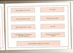 """Ejercicio para practicar el uso de la preposición """"por""""."""