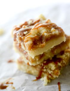 These bars would be great at some kind of back to school bake sale. People will love them!
