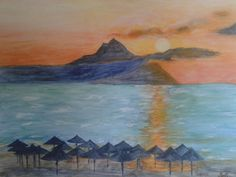 Napkelte Sartin/Watercolor