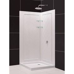 32 Fibergl Corner Shower Insert Google Search Guest Bathrooms Master Bedroom Bathroom