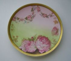 Haviland and co Limoges Plate - love the roses