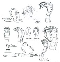 step 4 how to draw a snake head draw snake heads