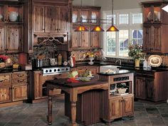 Rustic Kitchen Cabinet Design 15 interesting rustic kitchen designs | wood kitchen cabinets