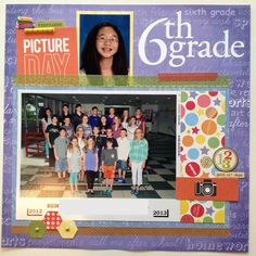 6th+Grade+Picture+Day - Scrapbook.com