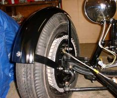 Motorcycle Fenders on F250 Backing Plates | The H.A.M.B.
