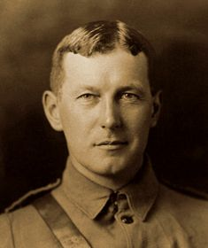 In Flanders Field John McCrae, c. 1914, by William Notman and Son