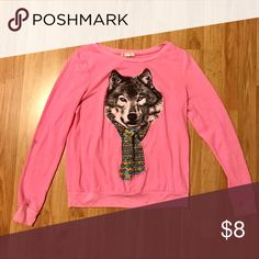 Wolf pullover sweatshirt Super comfy, offers welcomed Forever 21 Sweaters Crew & Scoop Necks