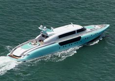 Moon Goddess 114 Yacht : Robert Giroux :: okay, this one's the right color! Yacht Design, Boat Design, Sport Yacht, Yacht Boat, Speed Boats, Power Boats, Float Your Boat, Love Boat, Cool Boats
