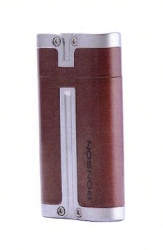 Ronson Barrel gas lighter - burgundy - Ronson - Gift Lighters