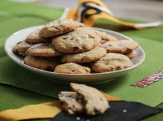 Salted Caramel Chocolate Chip Cookies recipe from Valerie Bertinelli via Food Network