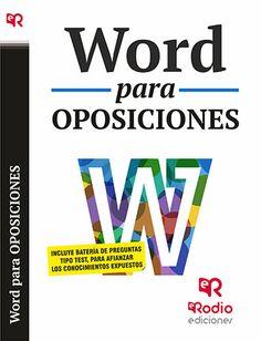9788416506286 Word para Oposiciones.
