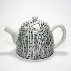 Japanese Mino porcelain teapot - morning dew – zen tea