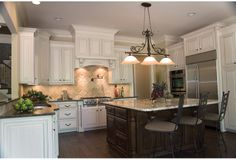 Even the kitchen in my perfect house plan is to die for! Promenade A House Plan - 7666