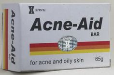 Acne-Aid Bar - As an aid in the management of acne and any condition where greasy skin predominates.