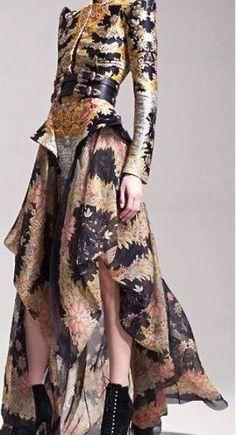 Alexander McQueen - floral prints