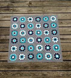 Image result for african flower crochet blanket