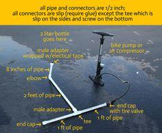 DIY pvc pipe rocketlauncher - itsalwaysautumn - it's always autumn